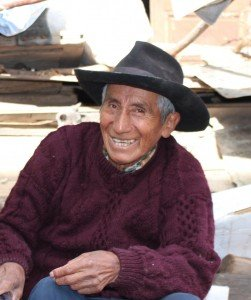Mesias Pumajulka, grandson of last khipu expert